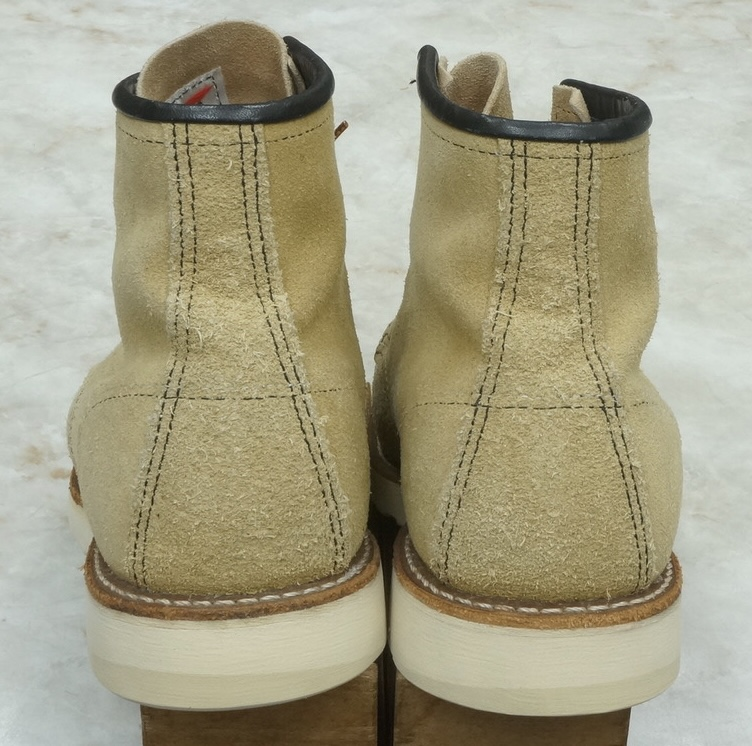 RED WING 8173 suede moc toe  irish setter 2