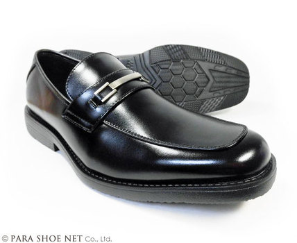 ARUKOKA(アルコーカ)ビットローファー ビジネスシューズ 黒 ワイズ(足幅)幅広4E(EEEE)27.5cm、28cm(28.0cm)、29cm(29.0cm) 【大きいサイズ(ビッグサイズ)紳士靴・通気底 蒸れない靴】